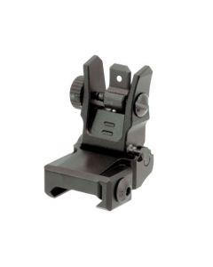 UTG Model 4 Low profile Flip-up Set  Front und Rear Sight,  black