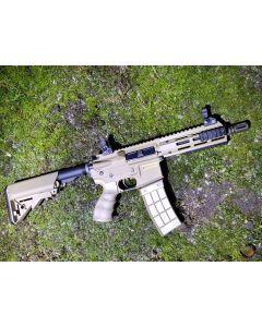 "Tippmann M4 Recon S-AEG Shorty 6"" Tan 6mm BB"