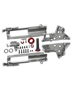 RetroArms CNC gefräste SPLIT Gearbox v.2 mit integrierter HopUp Kammer 8mm