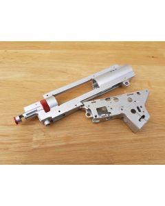 RetroArms CNC gefräste SPLIT Gearbox v.2 mit integrierter HopUp Kammer 9mm