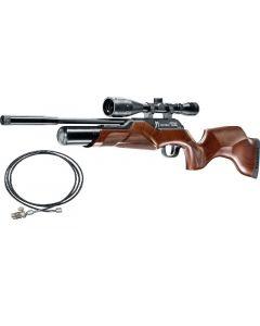 Walther Rotex RM8  4,5mm Pressluftgewehr inkl. Quickfill Schlauch