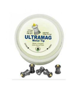 Skenco UltraMag Metal Tip 4,5mm Diabolo, 150 Stk.