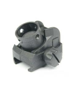 MP5 Style Front und Rear Sight Set, black