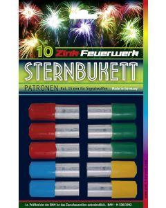 Zink Raketengeschosse: Sternbukett 10tlg. *Nur Ladenverkauf, kein Versand*