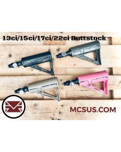 MCS TCA-II Universal Air Buttstock (13ci, 15ci, 17ci, 22ci), tan