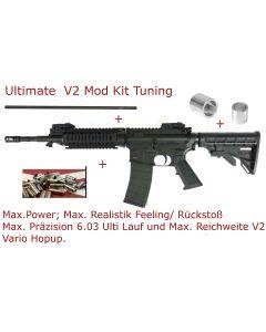 Tippmann M4 Airsoft Carbine Utimate Tuning V2 Mod