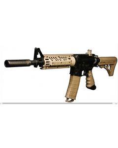 """Lapco 687, 14"""" BigShot Assault Lauf und Ported Fake Suppressor & M4 Sight  für Tippmann TMC (MARKER NOT INCLUDED)"""