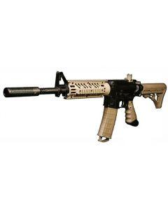 "Lapco 687, 16"" BigShot Assault and Ported Fake Suppressor & M4 Sight fürTippmann TMC (MARKER NOT INCLUDED)"