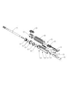 "Tippmann M4 Charging Handle Spring Comp. 3.43"" FL x 0.170""OD"