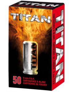 Perfecta Titan/ Victory Platzpatronen cal. 9 mm P.A.K., 50er Abholung/ kein Versand