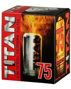 Perfecta Titan Platzpatronen cal. 9 mm P.A.K., 75er, Abholung/ kein Versand