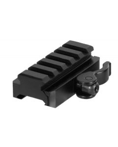 UTG 5-Slot QD Lever Mount Adaptor and Riser