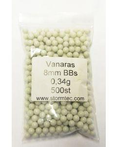 Vanaras 8mm BBs 0,27g, 500 Stück
