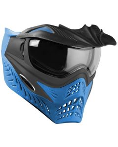 VForce Grill Paintballmaske, grey on blue, Thermalglas