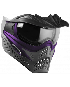 VForce Grill Paintballmaske purple on grey, Thermalglas