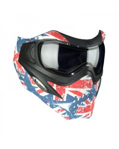 VForce Grill SE Union Jack Paintballmaske, Thermalglas