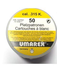 Umarex Platzpatronen cal. .315 K. 50 Stk., Abholung/ kein Versand