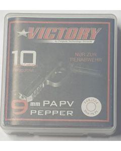 Victory Pfefferpatronen cal. 9mm PA PV, 10er Abholung/ kein Versand