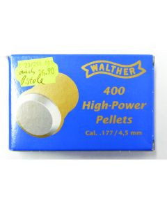 Walther High-Power Pellets 4.5 mm (400)