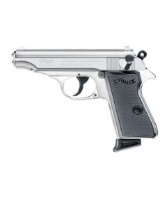 Walther PP POLISHED CHROME cal. 9mm PAK