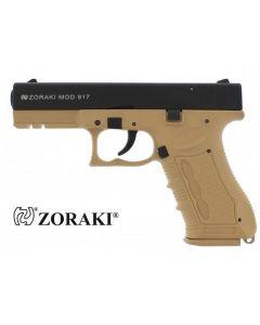Zoraki 917, 9mm P.A.K., schwarz/desert (TAN)